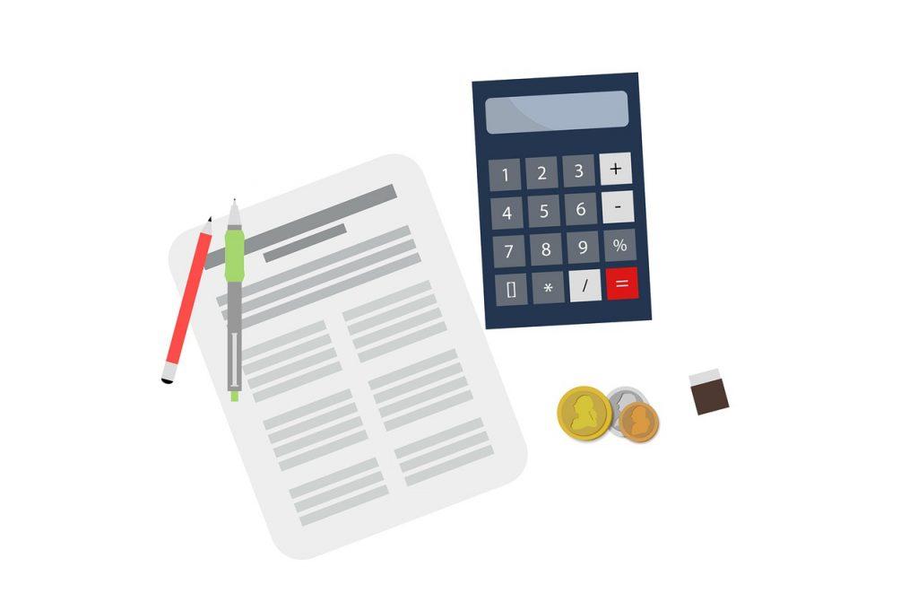 בדיקת מיסים עם מחשבון